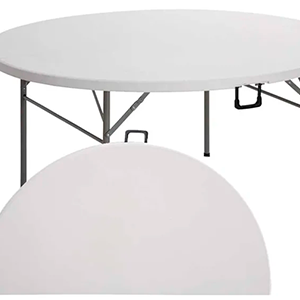 Mesa plegable redonda - Mesa Plegable (maletín)