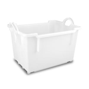 blanco - Cubetas / cajas para platos