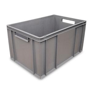 gris - Cubetas / cajas para platos